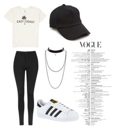 """Beth"" by alexaw20 on Polyvore featuring Billabong, Topshop, adidas and rag & bone"