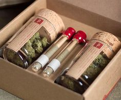 Take all the hard work out of <del>scoring your next fix</del> buying medicine by having it brought direct to your doorstep with this monthly weed delivery service. You'll be able to customize your Mary Jane care package with the dankest strains of sticky icky.