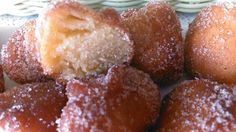 PURA, COCINA SIN GLUTEN: Buñuelos de Naranja sin gluten y sin lactosa Pretzel Bites, Side Dishes, French Toast, Sweet Treats, Muffin, Cooking Recipes, Gluten Free, Bread, Breakfast