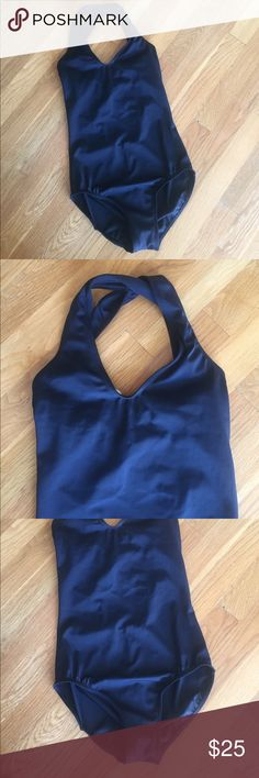 Balera Black Leotard Balera Black Leotard with Beautiful Back Detail in New Condition. Purchased just before my daughters surgery that took her out of Dance. Balera Other