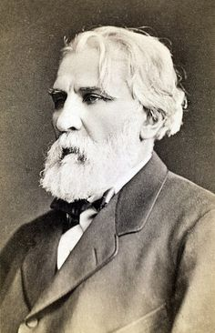Ivan Sergeyevich Turgenev (1818 – 1883) was a Russian novelist, short story writer, and playwright. His first major publication, a short story collection entitled A Sportsman's Sketches (1852), was a milestone of Russian Realism, and his novel Fathers and Sons (1862) is regarded as one of the major works of 19th-century fiction.