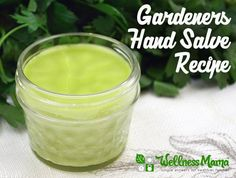 Gardeners Hand Salve Recipe http://herbsandoilshub.com/gardeners-hand-salve-recipe/  This is Katie's recipe for her healing gardeners salve. It uses a nice variety of dried herbs and is a pretty simple recipe.  #myherbalstudies