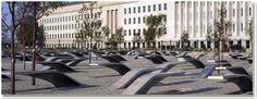 Pentagon memorial in Arlition, Virginia. 184 people died 9/11/01