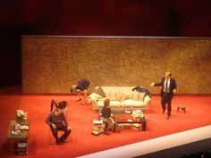 James Gandolfini, Hope Davis, Marcia Gay Harden, and Jeff Daniels - Broadway Production.