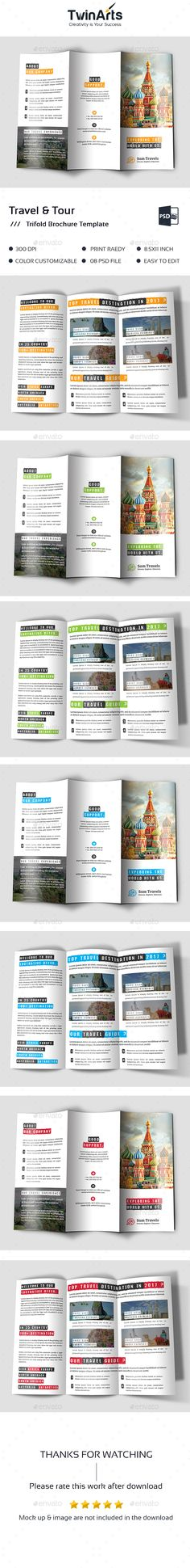 Real State Trifold Brochure  Brochures Brochure Template And