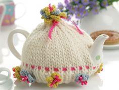 Tea cozy free pattern on Let's knit