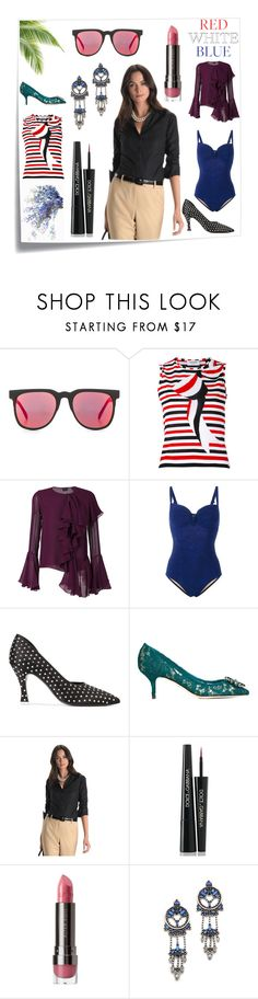 """""""wednesday wonders"""" by kristen-stewart-2989 ❤ liked on Polyvore featuring Post-It, Komono, Thom Browne, Tom Ford, Marlies Dekkers, Attico, Dolce&Gabbana, Brooks Brothers, LORAC and DANNIJO"""