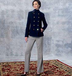 V1467, Misses' Jacket and Pants