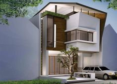 compact house concept in Jakarta