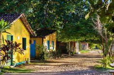 Parque Nacional de Monte Pascoal, marco da chegada dos portugueses ao Brasil. Caraíva, Bahia