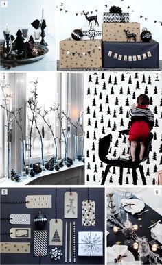 Navidad #blanco y #negro