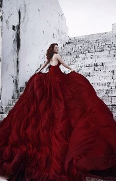 Custom Made Luxurious and Elegant Cathedral Train Gothic Wed.- Custom Made Luxurious and Elegant Cathedral Train Gothic Wedding Gown Custom Made Luxurious and Elegant Cathedral Train Gothic Wedding Gown – Matrimony Prep - Backless Prom Dresses, Sexy Dresses, Evening Dresses, Fashion Dresses, Dress Prom, Dress Formal, Vestidos Sexy, Red Gowns, Fantasy Dress