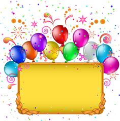 """""""Kids"""": """"I hereof invite you to my kid's birthday. Wish you would enjoy all the joy there, reply ASAP. Happy Birthday Frame, Birthday Frames, 3rd Birthday, Birthday Greetings, Birthday Wishes, Birthday Cards, Balloon Pictures, Birthday Clipart, Happy Eid"""