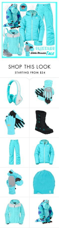 """""""Kids Winter Blizzard"""" by yours-styling-best-friend ❤ liked on Polyvore featuring The North Face"""