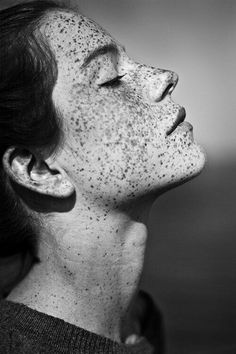 "Black & White Photography Inspiration Picture Description born-with-it-maybe: ""freckles A positively perfect stocking stuffer "" People Photography, Portrait Photography, Freckle Photography, Photography Tips, Street Photography, Landscape Photography, Nature Photography, Fashion Photography, Wedding Photography"