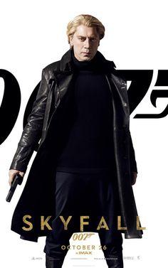 SKYFALL 007 Spanish actor Javier bardem