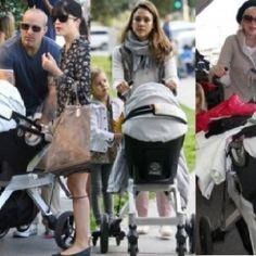 Baby stroller of the stars