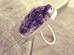 bague en cristal brut bague pierres précieuses brutes par MisMundos