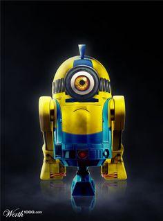 Minion meets R2D2
