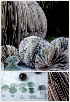 Paper Ornaments from WABI SABI Scandinavia (a great Swedish design blog)
