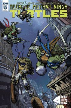 Teenage Mutant Ninja Turtles #69  Fried Pie Con Exclusive - Zach Howard