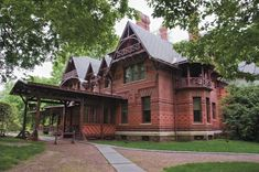 Mark Twain House and Museum, Samuel Langhorne Clemens. Hartford, Connecticut