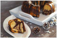 Jetzt im Winter müsst Ihr unbedingt diesen weihnachtlichen Spekulatius-Marmorkuchen ausprobieren. Marmorkuchen mit winterlichen Gewürzen - ein Traum!