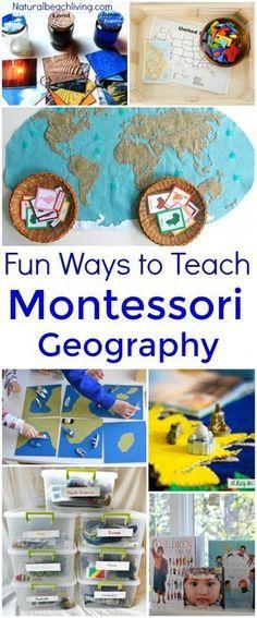 20+ Ways to Teach Montessori Geography Kids Will Love, Montessori Activities, Montessori Geography Shelf, Montessori Preschool, Montessori Toddler, Montessori Curriculum #Montessori