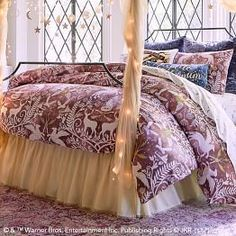 Bring the magic of Hogwarts into your room with Pottery Barn Teen's Harry Potter bedding, and home decor. Shop the Harry Potter Collection for bedding, decor, room accessories and more. Decor, Low Loft Beds, Harry Potter Bedroom Decor, Damask Decor, Duvet, Girls Duvet, Bedroom Decor, Damask Duvet Covers, Damask Bedding