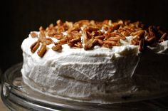 Priester's Whipped Cream and Pecan Cake - December 2015 Country Kitchen pecan recipes