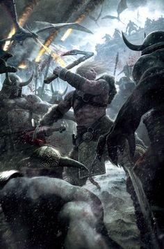 Scandinavian Vikings   In the upcoming game Viking: Battle for Asgard, the Norse goddess Hel ...