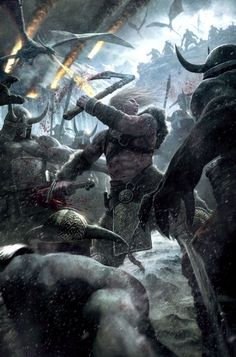 Scandinavian Vikings | In the upcoming game Viking: Battle for Asgard, the Norse goddess Hel ...