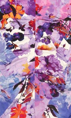 nicole miller digital floral
