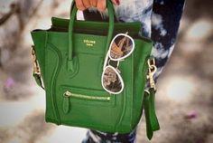 #bag  #celine #accessuaries #glasses #brand #green  #beautiful #fashion #like