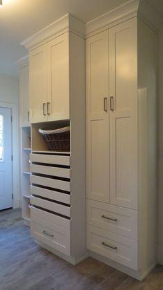 Laundry Solutions, Laundry Design, Spaces, Closet, Home Decor, Armoire, Decoration Home, Room Decor, Closets