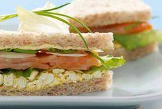 Räucherlachs-Sandwich #goldentoast