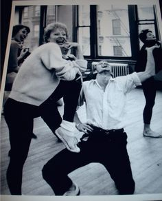 gwen verdon | Gwen Verdon and Bob Fosse New Girl in Town Broadway