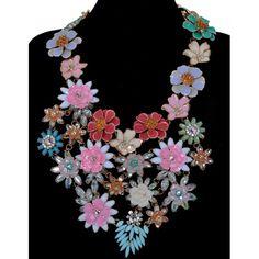 Crochet Necklace, Jewelry, Jewlery, Crochet Collar, Bijoux, Schmuck, Jewerly, Jewels, Jewelery