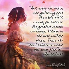 Our magical amazing world ~Roald Dahl❤️☀️