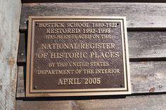 Bostic School in Richmond County, NC  Historic Site