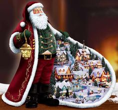 I want this now!  Love the Thomas Kinkade Christmas Collectibles.  They are gorgeous!