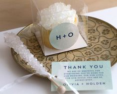 Rock Candy Wedding Favors Your Guests Will Love!