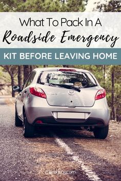 What To Pack In Your Roadside Emergency Kit (Damsel in Defense Junk in the Trunk) - Meredith Rines Roadside Emergency Kit, Emergency Kits, Damsel In Defense, Self Defense Tips, 72 Hour Kits, Car Buying Tips, Leaving Home, Disaster Preparedness, What To Pack