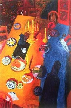 Held, Julie  : The Supper, 1996 (oil on c...