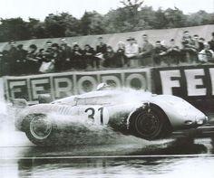 Porsche 718 - 1958 24 Hours of Le Mans [1400x1171] - Imgur