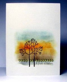 By Birgit Edblom (Biggan at Splitcoaststampers). Note how she used the red-orange to focus attention on that area. The sponging isn't uniform -- darker here, lighter there. I can learn a lot from Birgit.