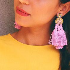 the Flamingo Earrings #statementearrings
