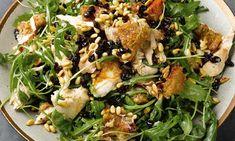 Yotam Ottolenghi's warm roast chicken and bread salad