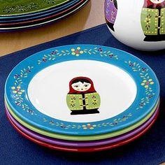 Matryoshka plates