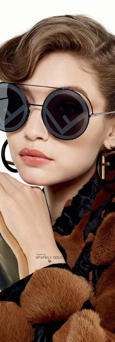308821d94dc Fendi Fall Winter Advertising Campaign Featuring Gigi Hadid And Kendall  Jenner